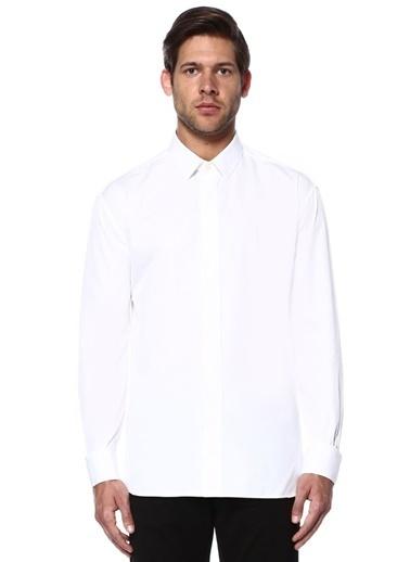 Saint Laurent Gömlek Beyaz